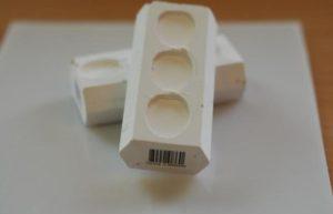 Primero Porcelain after Drying